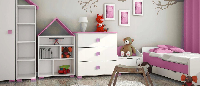 Zestaw mebli do pokoju dziecięcego pozwoli Ci szybko i efektowni urządzić pomieszczenie