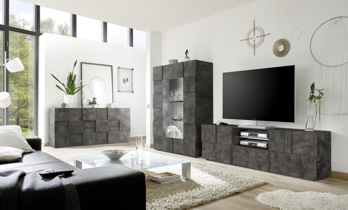 Włoskie meble z efektem betonu Dama