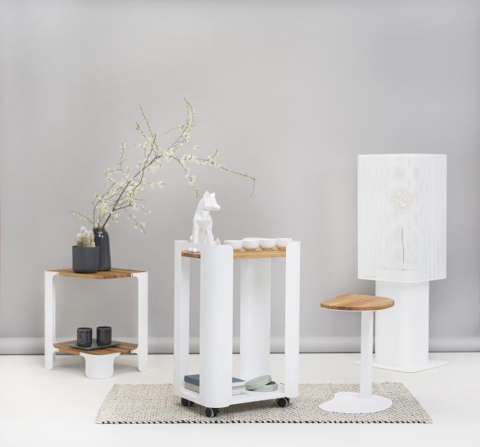 Białe meble do nowoczesnego salonu