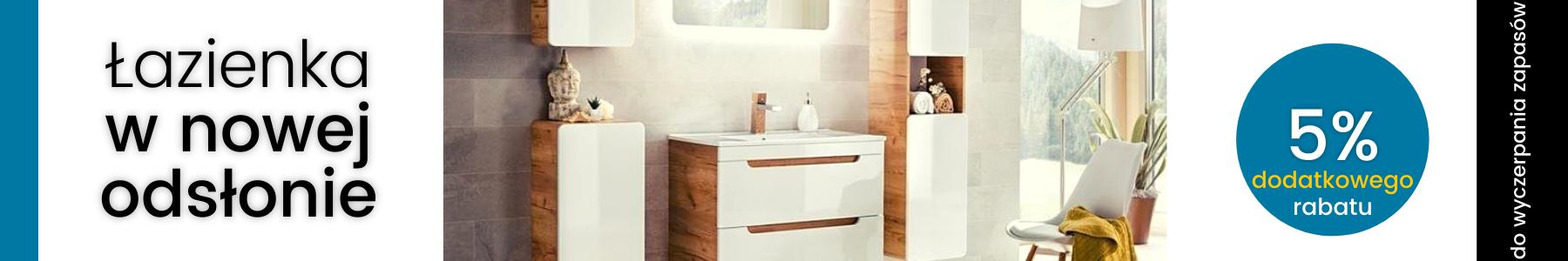 Meble łazienkowe do stylowych wnętrz