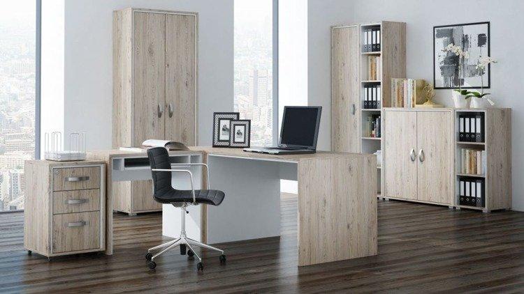 Nowoczesne biurko narożne do biura