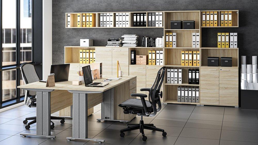 Półki wiszące do biura wprowadzą porządek do Twojego miejsca pracy