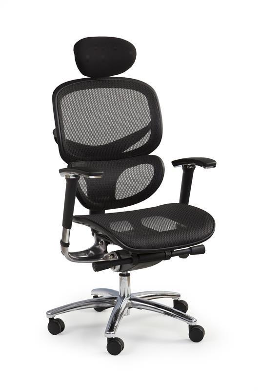 Nowoczesny fotel biurowy z ergonomicznym siedziskiem