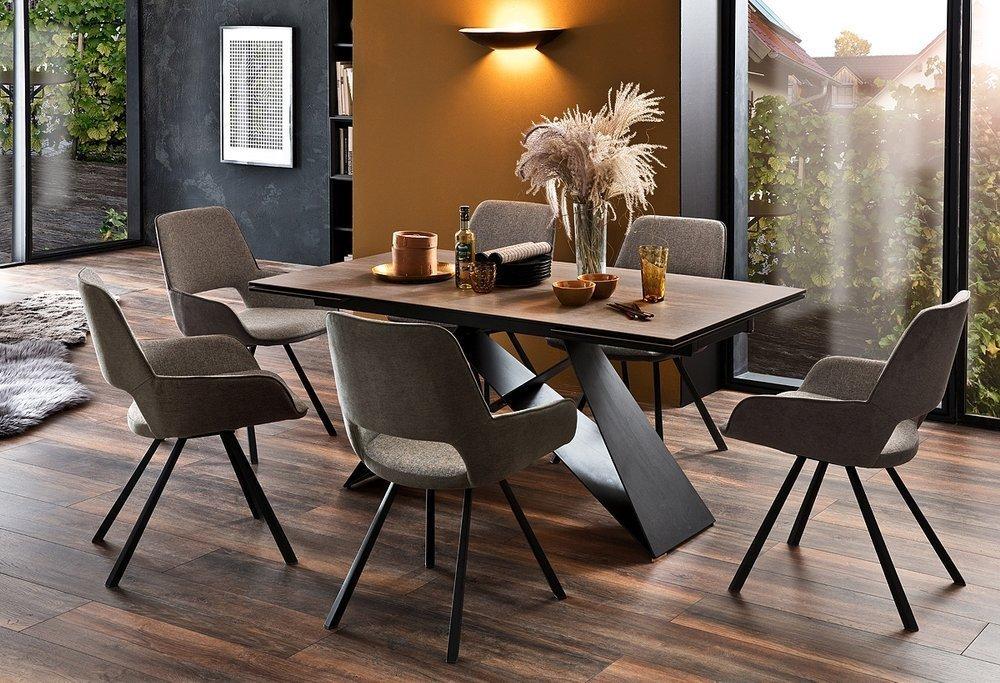 Krzesło Obrotowe Parana do salonu i jadalni