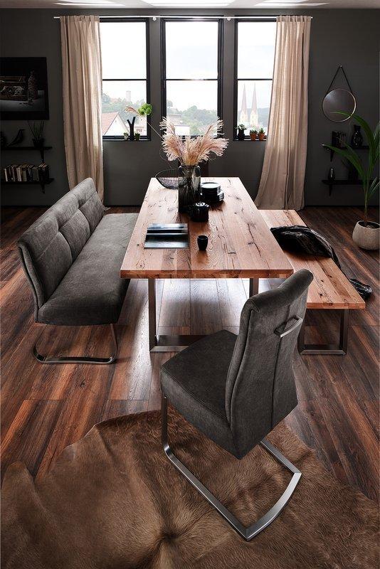 Stylowa ławka tapicerowana do salonu i jadalni Talena
