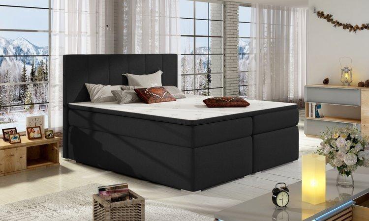 Stylowe łóżka hotelowe