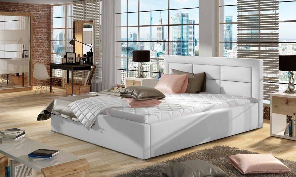 Bardzo duże łoże dla dwóch osób 200x200 cm