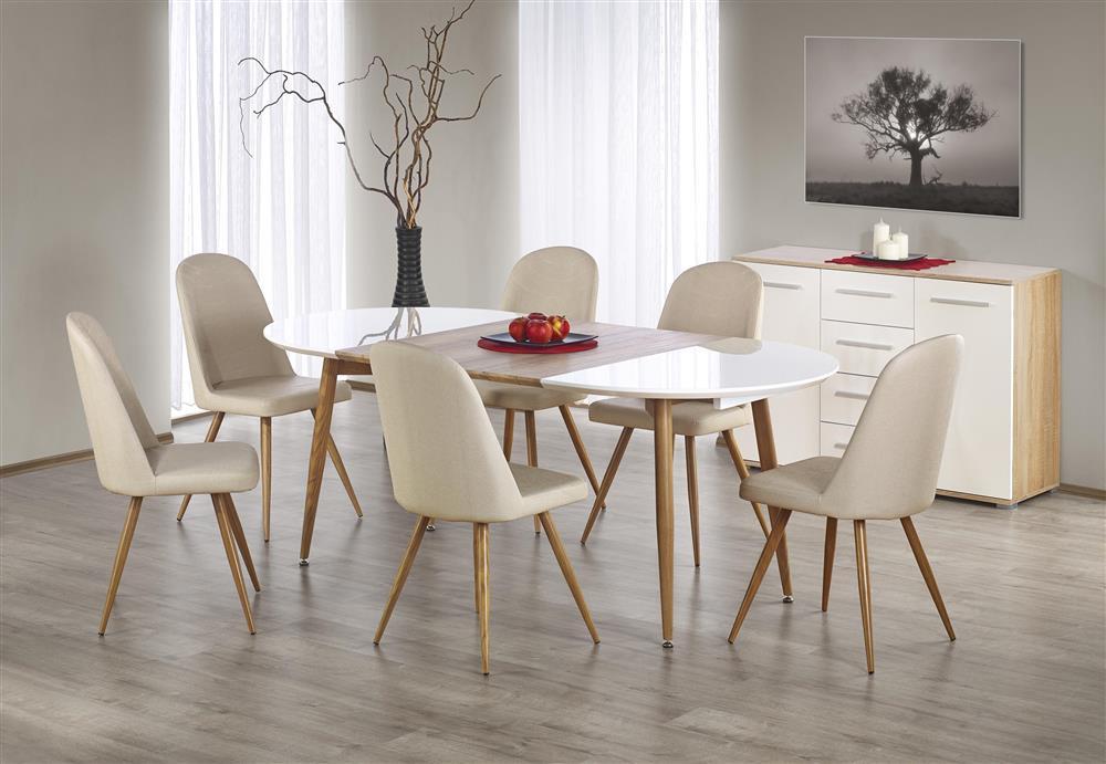 Rozkładany stół Espirs z owalnym blatem