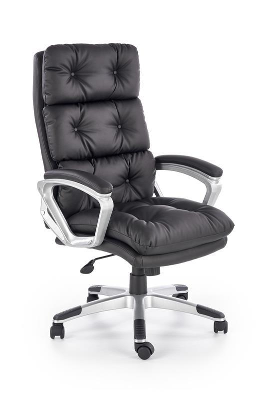 ELegancki fotel biurowy z pikowanym oparciem
