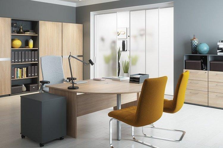 Duże biurko do biura 180 cm
