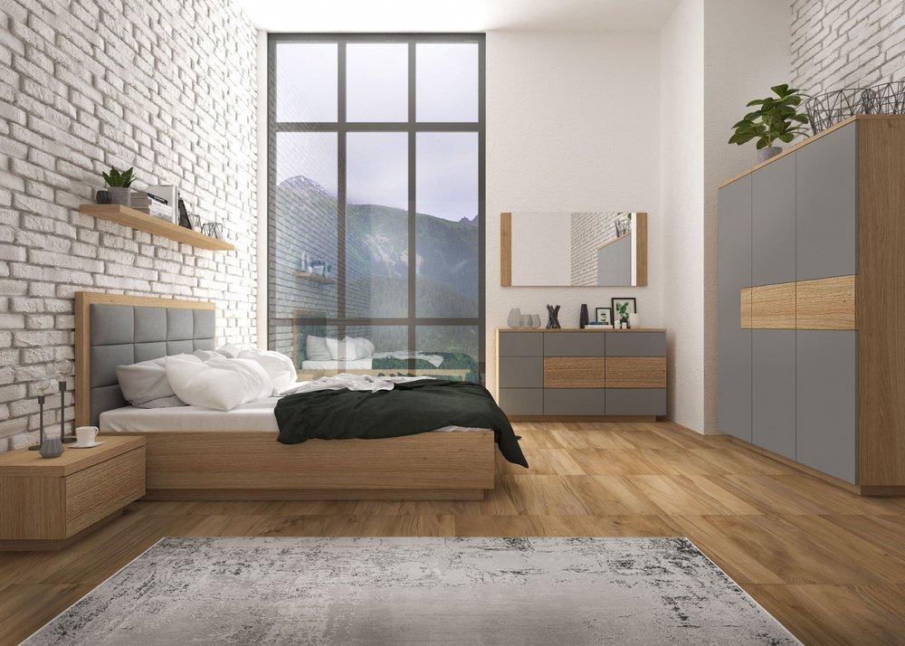 Meble do nowoczesnej sypialni Loft
