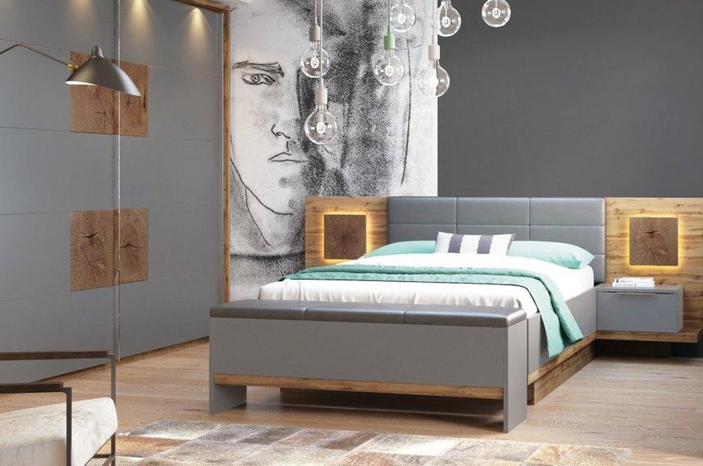 Nowoczesne meble sypialniane Livorno