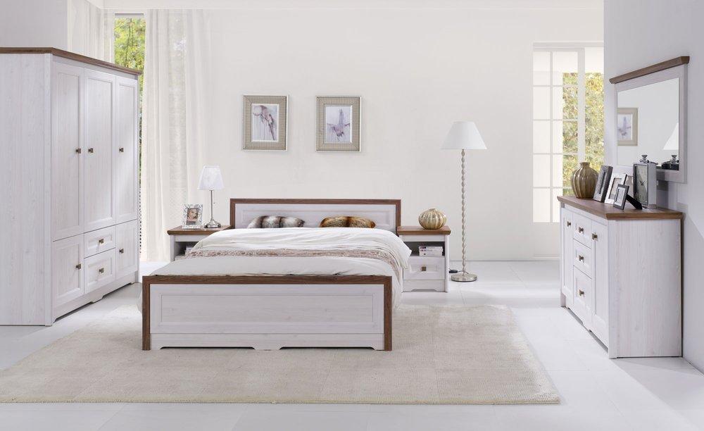 Zestaw mebli do sypialni Parys w stylu prowansalskim