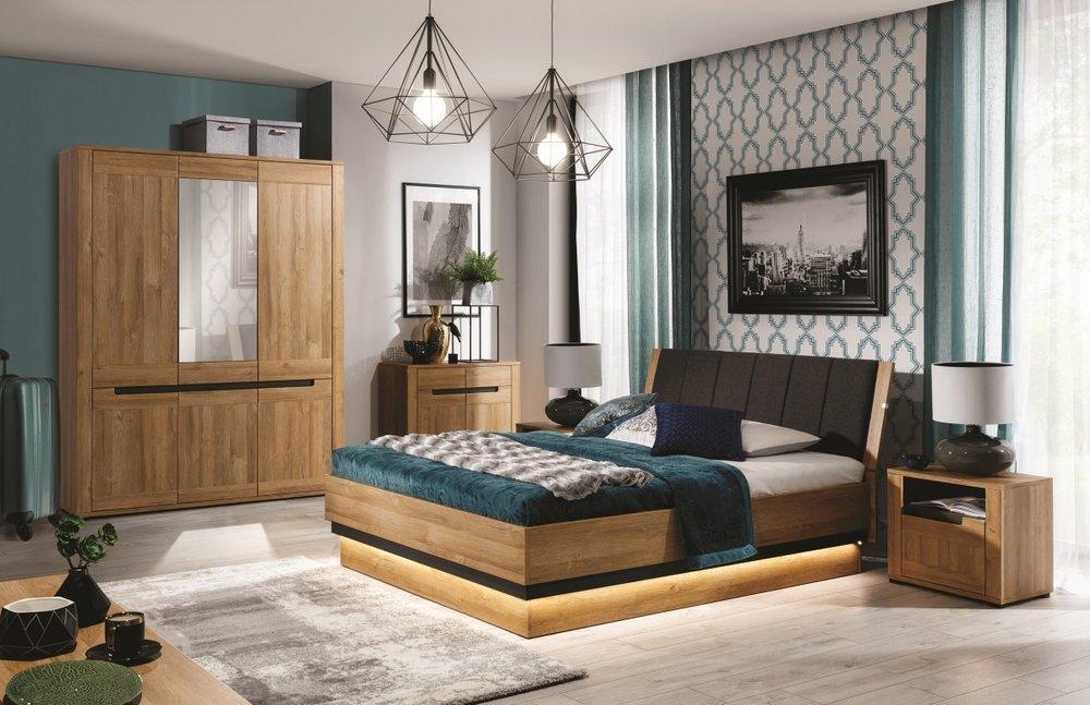 Zestaw mebli do nowoczesnej sypialni York