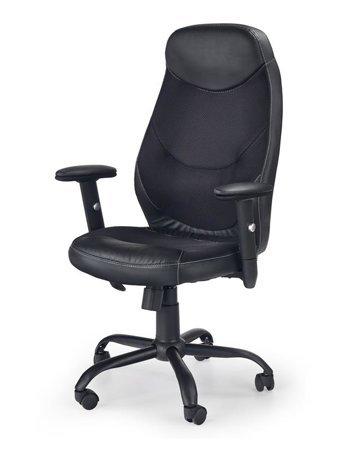 Czarny fotel gamingowy Roger